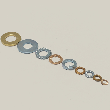 Flat Washers Brass Imperial