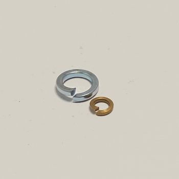 Steel Zinc Rectangluar Section Spring Washers