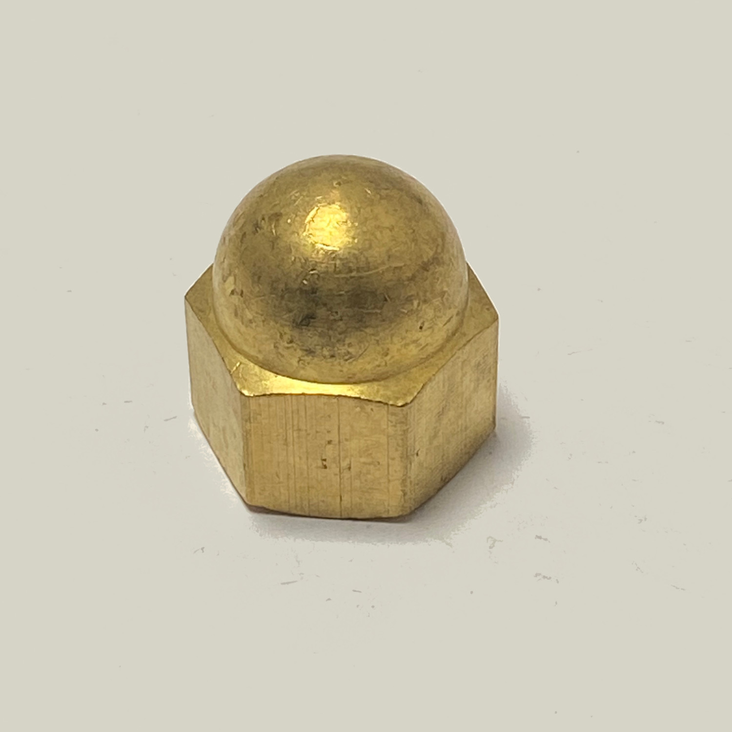 M3 BRASS DOME NUTS