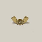 M6 BRASS WING NUTS