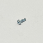 4UNC X 5/8 STEEL POZI PAN SCREWS ZINC