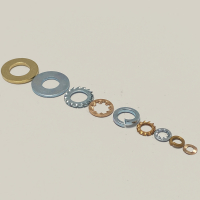 Flat Washers Form A Steel Zinc